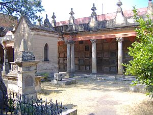 Panteon de Belen tomb in Guadalajara, Mexico