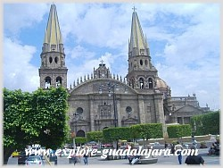 Mexico Vacations-Guadalajara Attractions- Guadalajara Cathedral (Pronounced as Guad-a-la-hara)