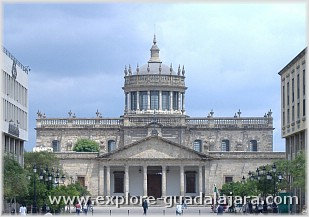 Mexico Vacations -Guadalajara Attractions- Cabañas Cultural Institute(Pronounced as Guad-a-la-hara)