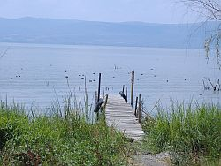 Walking around the island-Lake Chapala