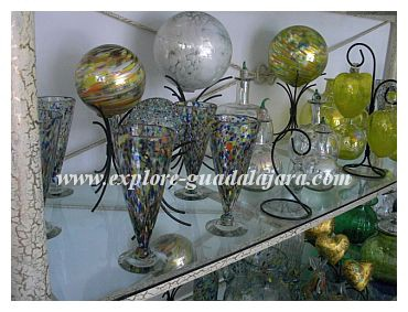 Blown Glass from Tonala