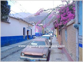 A quiet street down Ajijic
