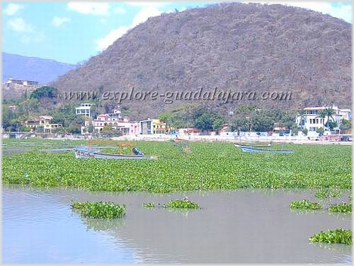 Lake Chapala during dry season