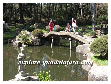 Guadalajara attractions,Parque Colomos-Japanese Garden