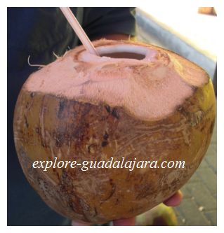 Fresh Coconut Juice in Mexico