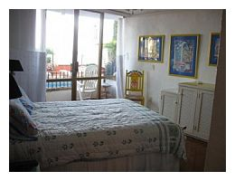 Bedroom with terrace in Puerto Vallarta house rental