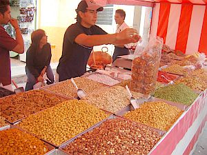 Wrapping candies in Tonala, Jalisco