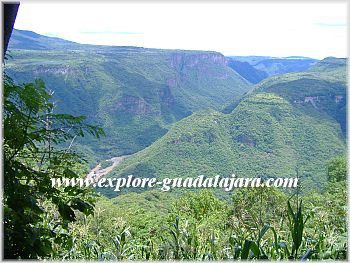 La Barranca de Huentitan-Sierra Madre Occidental