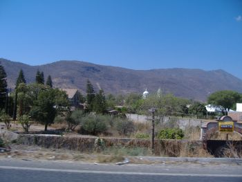 Little Pueblo on the way to Chapala