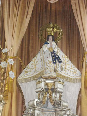 La Virgen de Zapopan Replica at Guadalajara Cathedral